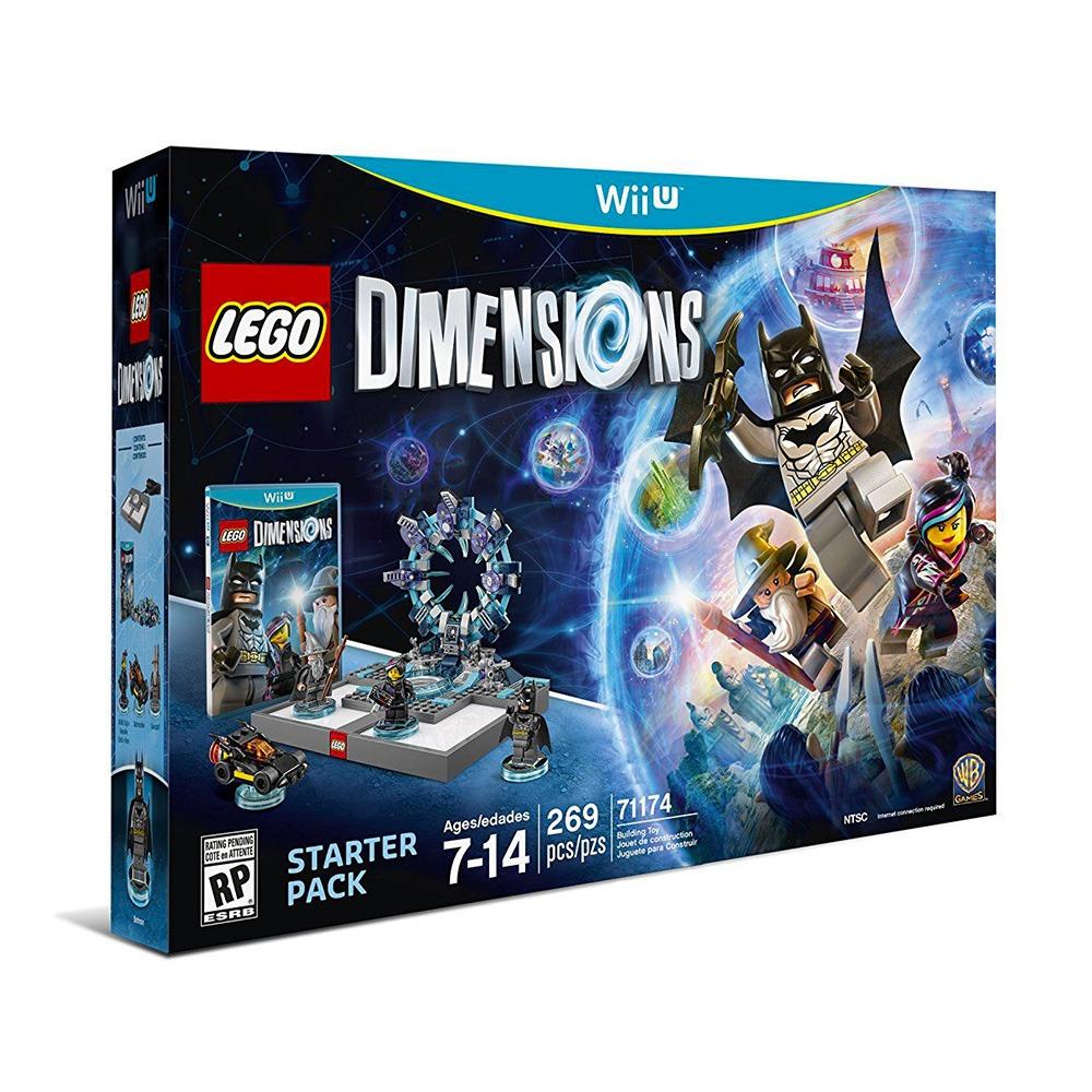 Lego Dimensions 269 Pzas Juego Para Wii U Nuevo Sellado