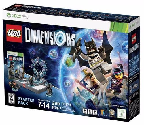 lego dimensions 71173 starter pack xbox 360 nuevo