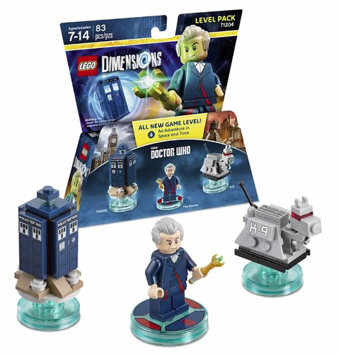 lego dimensions 71204 level pack doctor who 83 pzas nuevo