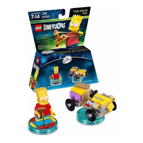 Lego Dimensions 71211 Fun Pack Bart Simpson