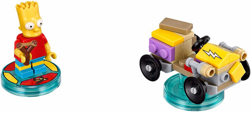 lego dimensions bart simpson, simpsons  34 piezas.