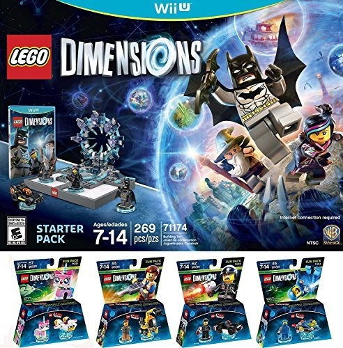 lego dimensions starter pack for nintendo wii u plus lego mo