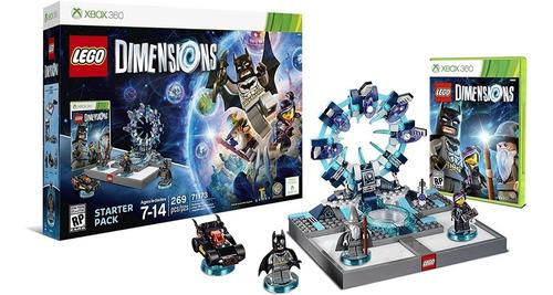 lego dimensions xbox 360 starter pack jogo lacrado