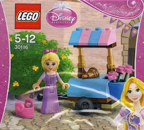 lego disney princess 30116 rapunzel visita mercado- polybag