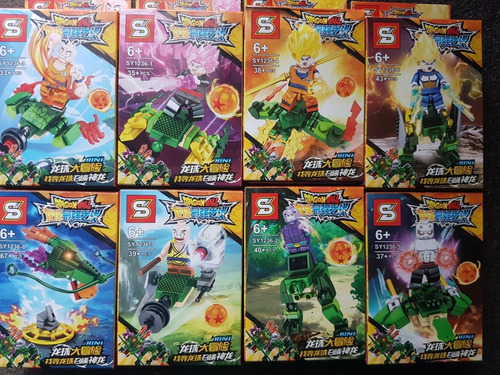 lego dragón ball legos figuras armables dragon ball 3unid