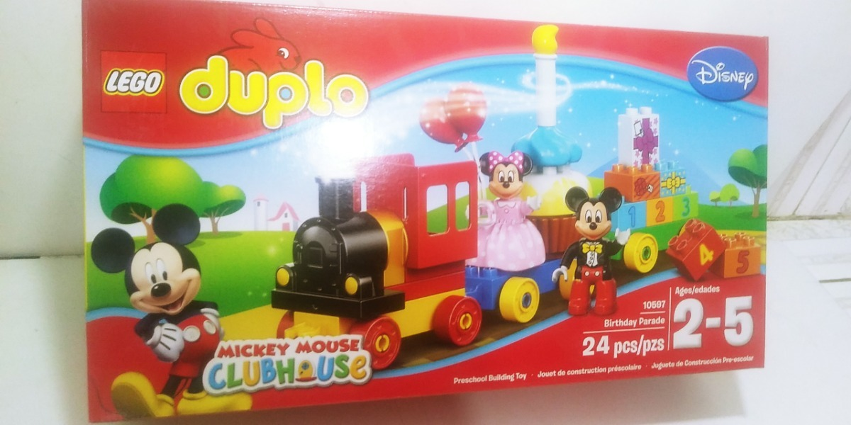 Duplo Club Lego HouseE Mickey Birthday Parade Mouse 10597 uKlFJc31T