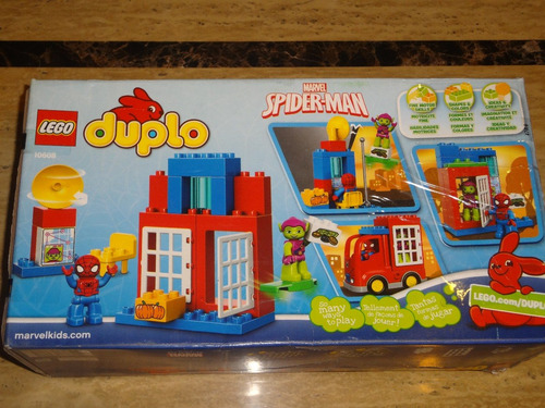 lego duplo 10608 / hombre araña / spider truck adventure