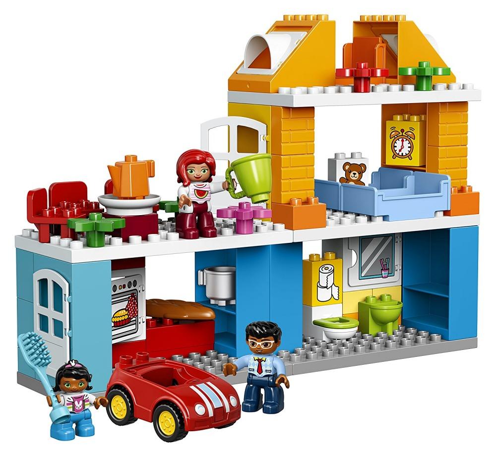 Lego Duplo Casa Familia Juego Creativo Para Ninos Pequenos