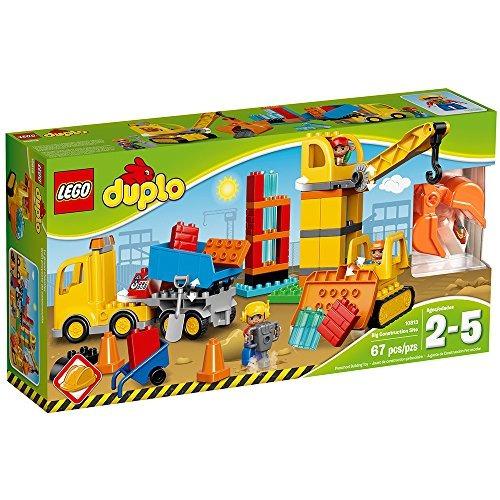 Lego Duplo Ciudad 10813 gran obra Kit de construcción 67 Piezas