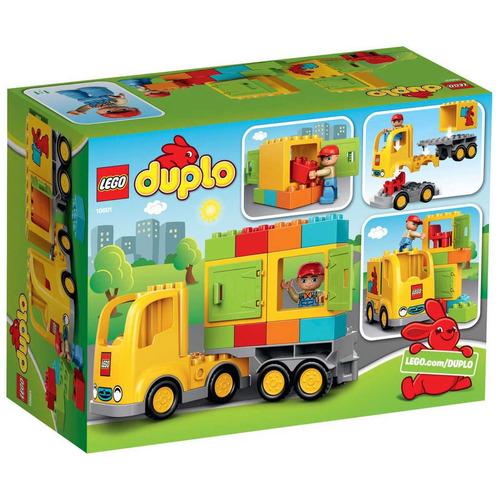 lego duplo el camión 10601 19 piezas y figuras de 2 a 5 años
