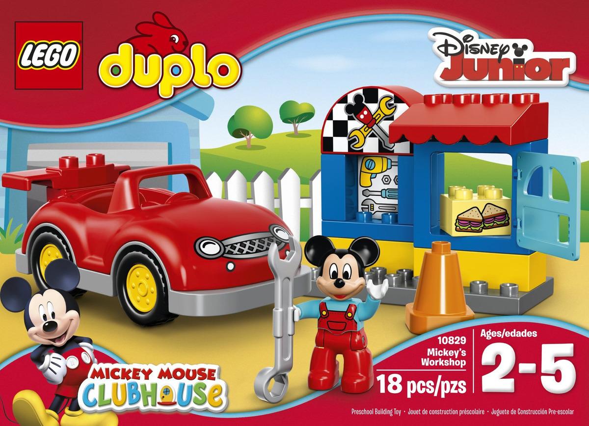 LEGO DUPLO DISNEY 10829 mickys officina Mickey /'s Workshop n1//16