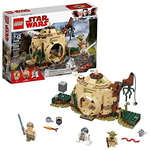 lego el imperio contraataca en la cabaña de yoda 75208 kit