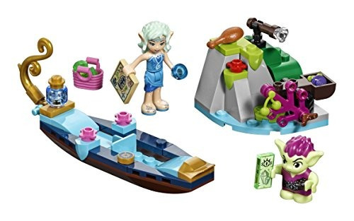 lego elves naida's gondola & the goblin thief 41181