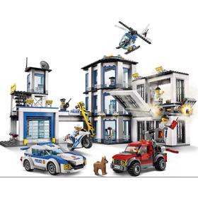 Lego Estación De Policía 60141 894pzas Juguete Legos Niño