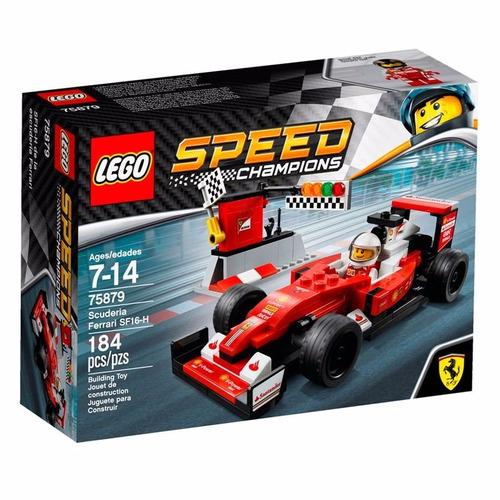 lego ferrari speed champions scuderia ferrari f1 75879