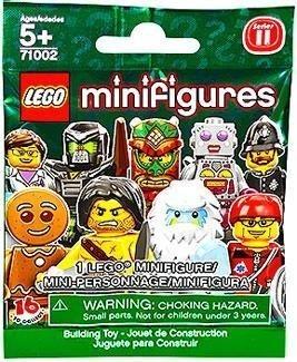 Lego minifigures serie 11 Dama robot de relojería