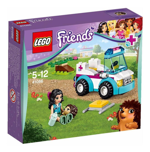 lego friends 41086 ambulancia de veterinaria