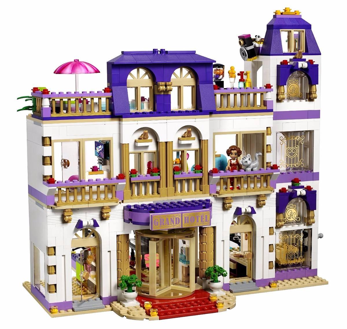 lego friends 41101 el gran hotel de heartlake s 740 00 en mercado libre. Black Bedroom Furniture Sets. Home Design Ideas