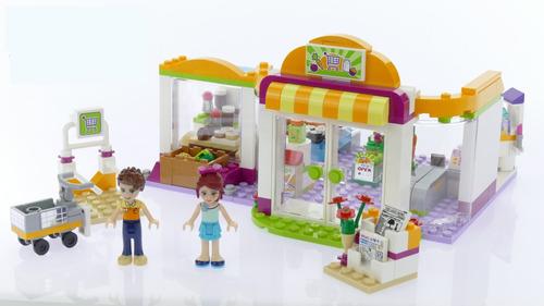 lego friends 41118 supermercado de heartlake 313 60pzs