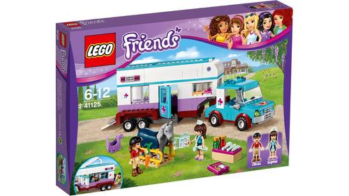 lego friends 41125 trailler veterinario para cavalos