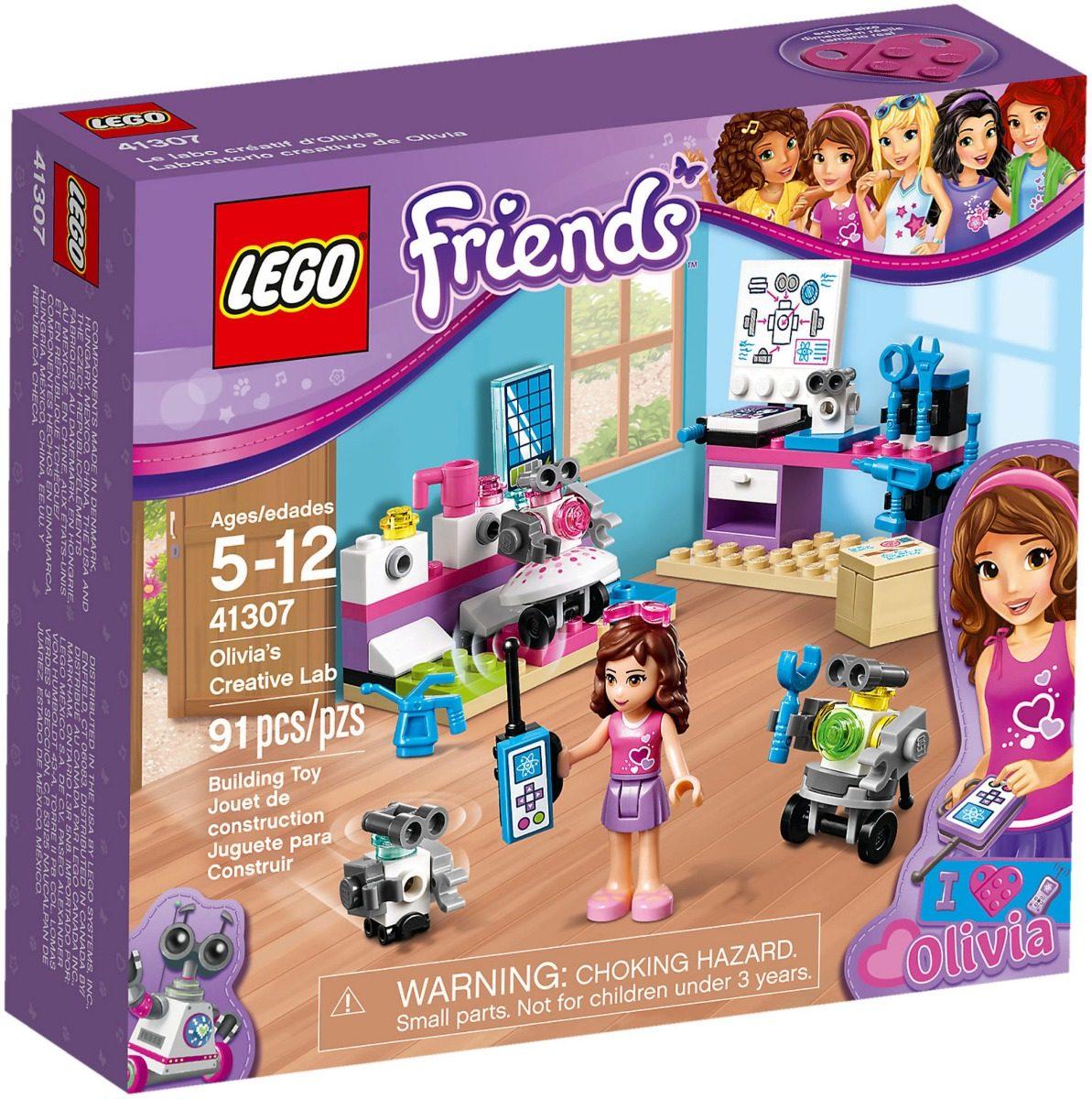 Lego Friends 41307 Laboratorio Creativo Olivia Mundo Manias