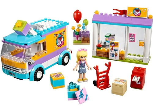 lego friends - 41310 - heartlake gift delivery - original