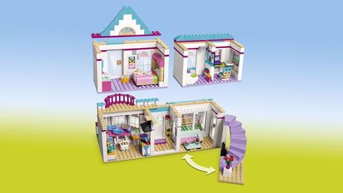 lego friends 41314 - a casa da stephanie 622 pçs original