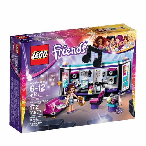lego friends estrella pop: estudio de grabación