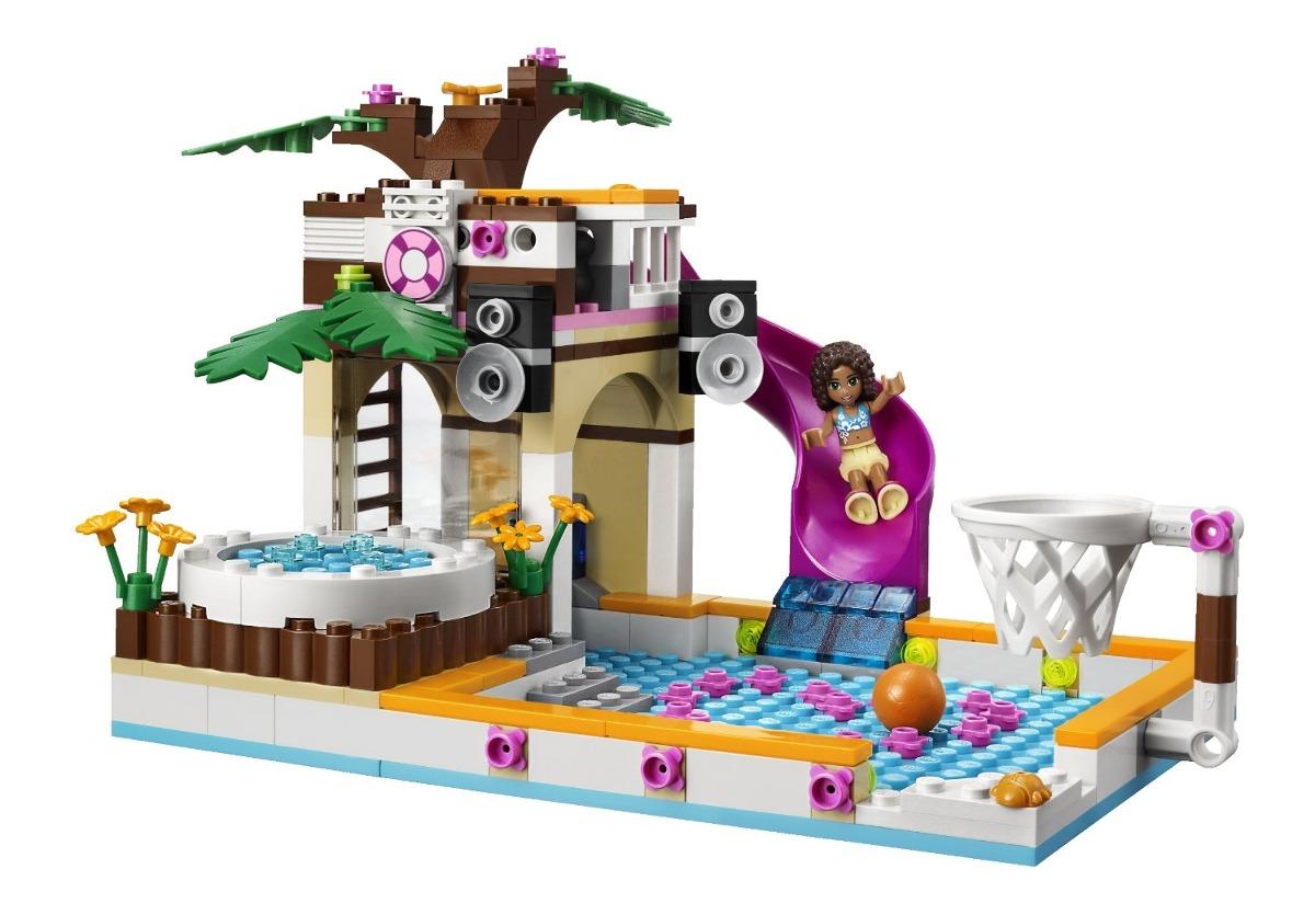 Lego friends la piscina de heartlake 41008 en - Lego friends piscina ...