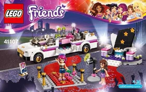 lego friends limusina #41107