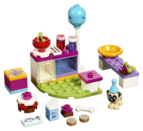 lego friends party cakes 41112