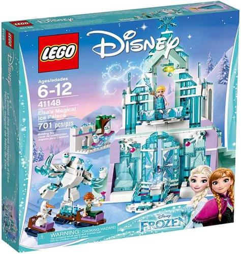 lego frozen, palacio mágico de hielo de elsa