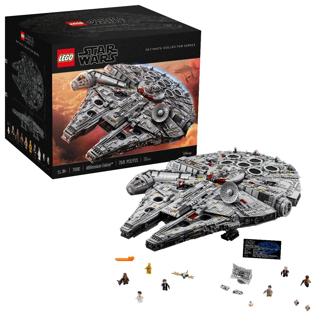 Lego Halcon Milenario Coleccionable 7541 Piezas - $ 23,200.00 en ...