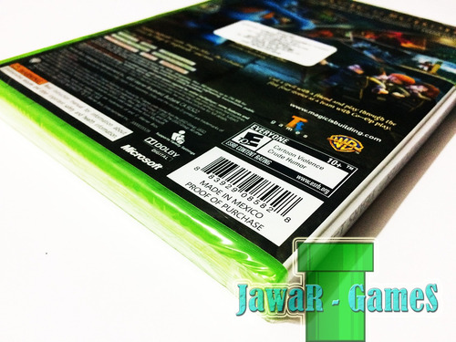 lego harry poter years 1-4 nuevo - xbox 360