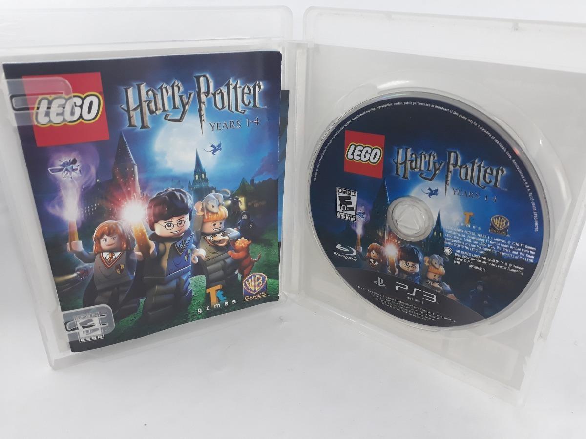 Lego Harry Potter Ano 1-4 Ps3 Jogo Playstation 3 Físico Sony