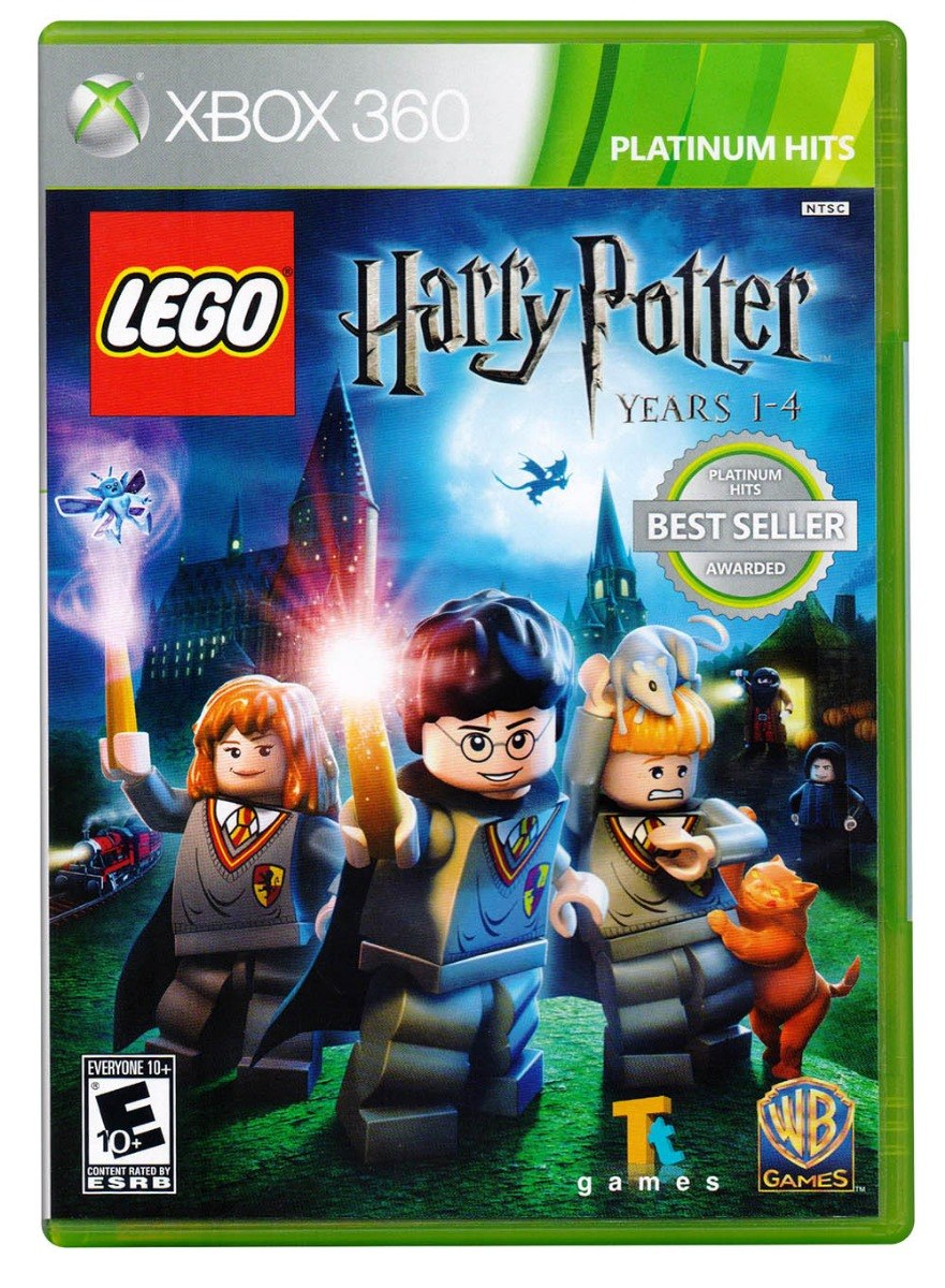 Lego Harry Potter Anos 1 4 Xbox 360 Juego Nuevo En Karzov