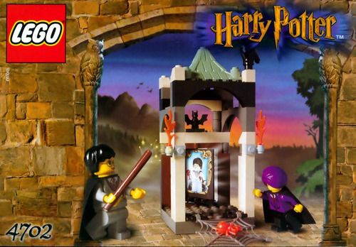 lego harry potter the final challenge set 4702 completo