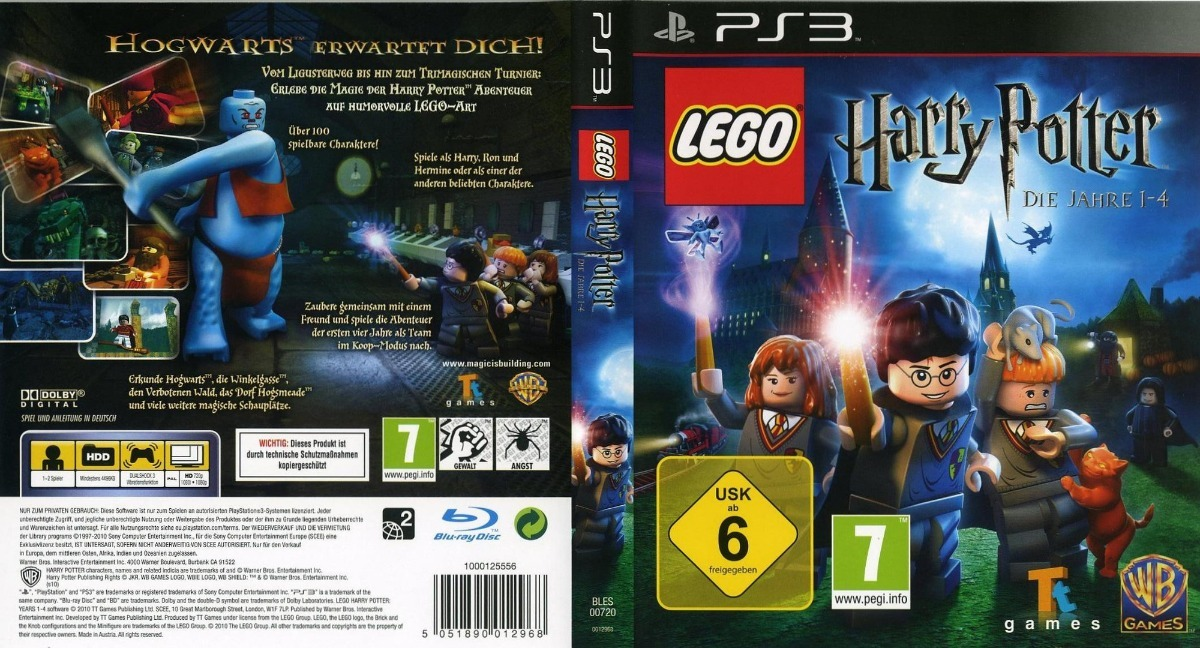 Lego Harry Potter Years 1 4 Ps3 Fisico Original 690 00 En