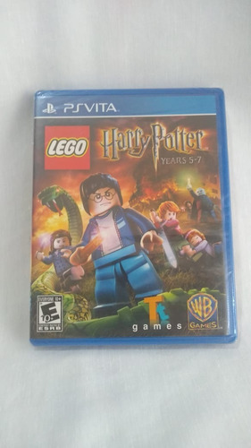lego harry potter: years 5-7 - nuevo y sellado - ps vita