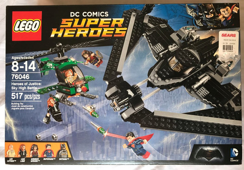lego heroes of justice sky high battle