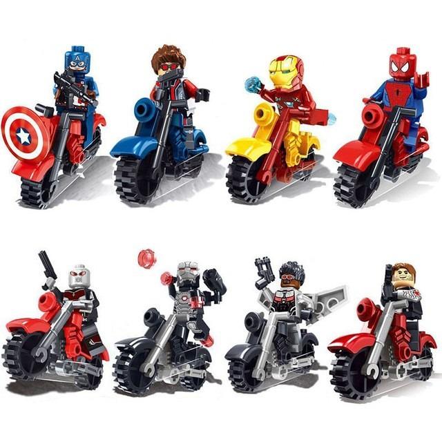 Lego homem aranha boneco motinhas vingadores marvel dc r - Spiderman batman lego ...