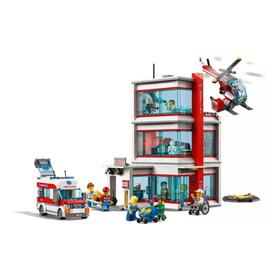 Lego Hospital 60204 Juguete Niño Niña Helicoptero Ambulancia