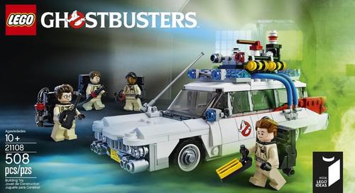 lego ideas 21108  ghostbusters 508 pzs (90us)