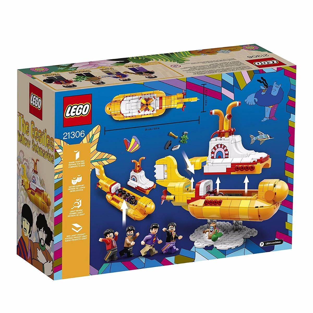 Lego Ideas Yellow Submarine Beatles 21306 Submarino ...