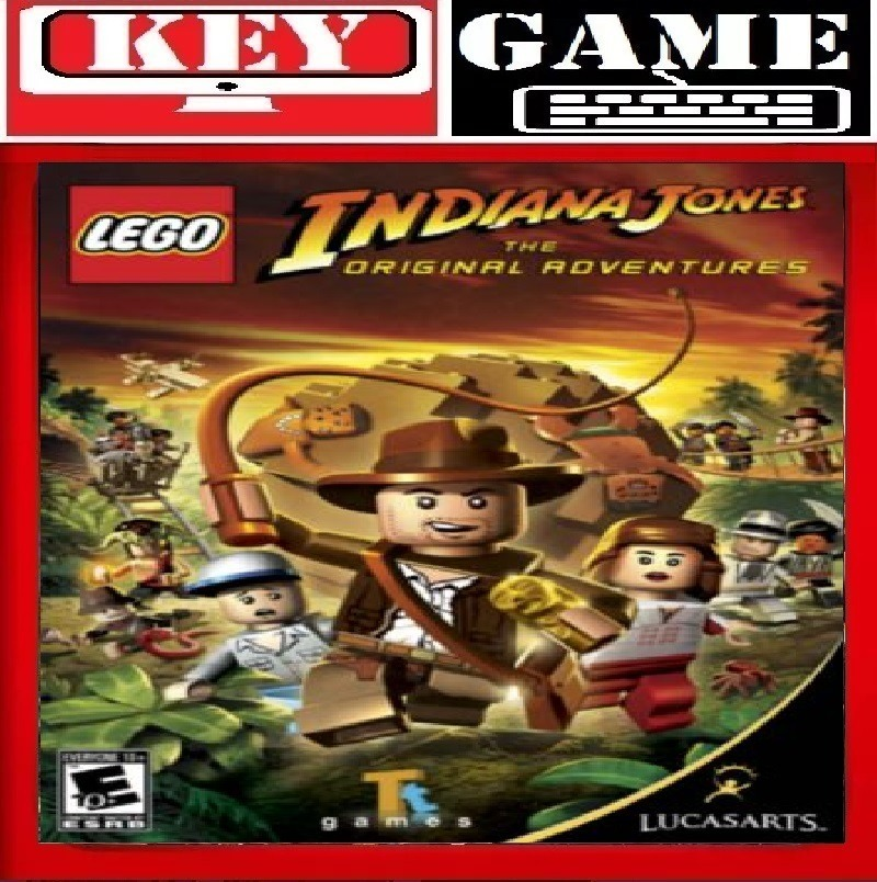 Lego Indiana Jones The Original Advent Key 100 Original R 15