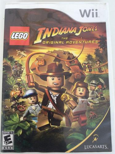 lego indiana jones the original adventures - nintendo wii