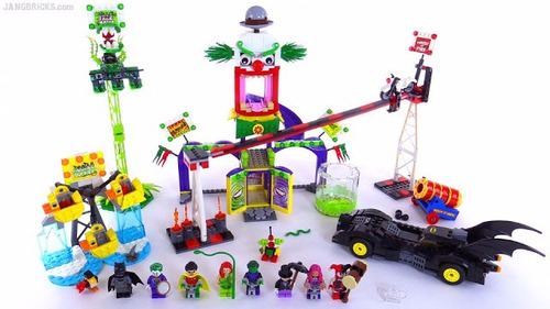 lego jokerland decool superhéroes sy 512 dc comics + envio