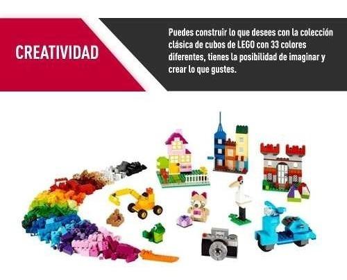 lego juego caja grande de ladrillos creativos proglobal