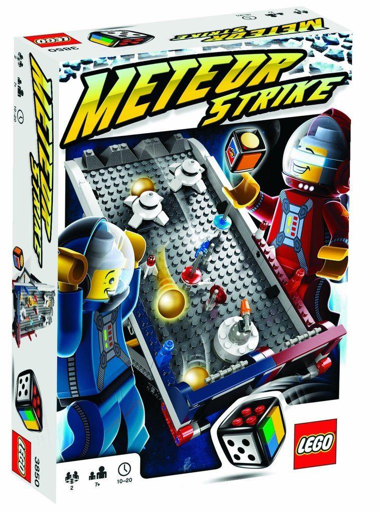 Lego Juego De Mesa El Impacto Del Meteoro 100 000 000 En Mercado