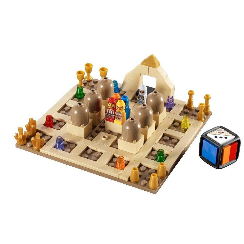 Lego Juego De Mesa El Regreso De Ramses 3855 100 000 000 En